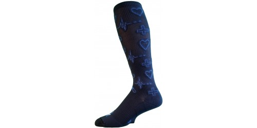 ELECTRICAL BLUE MEDIC compression stockings