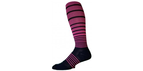 BLUE & PINK STRIPES compression stockings