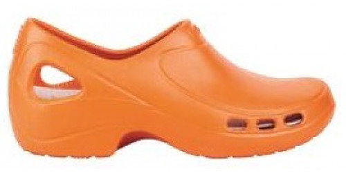 ORANGE EVERLITE clogs
