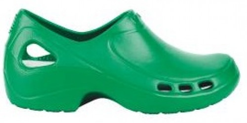 GREEN EVERLITE clogs