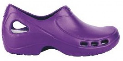 PURPLE EVERLITE clogs